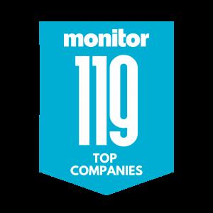Monitor 119 Top Companies